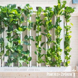 8-tower ZipGrow vertical garden